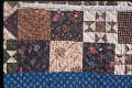 View 1790 - 1810 Copp Family's Framed Center Pieced Quilt digital asset number 1