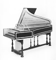 View Chickering & Sons Double Manual Harpsichord digital asset number 0