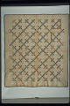 """View 1850 - 1875 Mary Ann Bishop's """"Double Nine-patch"""" Pieced Quilt digital asset: Overall"""