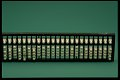 View Soroban or Japanese Abacus digital asset: Japanese Abacus for the Blind, Front View