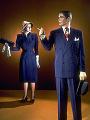 View Man's Two-Piece Suit digital asset: Woman's suit and man's suit