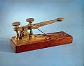 View Morse-Vail Telegraph Key digital asset: Morse telegraph material: telegraph key