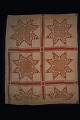 "View 1850 - 1875 Long Plantation ""Feathered Star"" Pieced Quilt digital asset number 0"