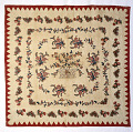 View 1837 - 1838 Adaline Lusby's Appliqued Quilt digital asset number 0