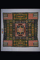 View 1889 - 1893 Jewett Washington Curtis's Pieced Bedcover digital asset: Overall