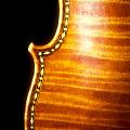 "View Stradivari Violin, the ""Ole Bull"" digital asset: Ole Bull violin, detail"