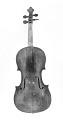 View German Violin digital asset: Bohemian violin, front view