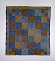 View 1850-1899 Pieced Wool Quilt digital asset number 0