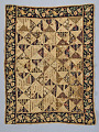 View 1790 - 1810 Triangle-Pieced Child's Quilt digital asset number 0