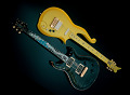 View Prince's Yellow Cloud Electric Guitar digital asset number 2