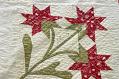 "View 1840 - 1860 ""Carolina Lily"" Album Quilt digital asset: Quilt, detail"