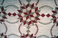 "View 1885 - 1895 Mary Harris's ""Butter and Eggs"" Quilt digital asset number 1"
