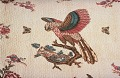 "View 1840 - 1850 Hephzibah Jenkins Townsend's ""Hawk Owl"" Appliqued Quilt digital asset number 1"