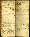 View Pages of entries for agricultural goods purchased and sold, and a record of persons employed. [account book] digital asset: Pages of entries for agricultural goods purchased and sold, and a record of persons employed. [account book]