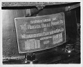 View Kenneth M. Swezey Papers digital asset: Nameplate on one of the first 5,000 horsepower generators of the Niagara Falls Power Company, citing nine patents by Tesla