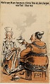 View Melican Man he mus dlink Tea an den he get / so fat like me [caption at top of card] [trade card] digital asset: Melican Man he mus dlink Tea an den he get / so fat like me [caption at top of card] [trade card].