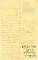View [H. Wruler Letter,] digital asset: [H. Wruler Letter,] 1861.