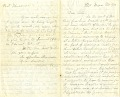 View [Theodore Price Letter,] digital asset: [Theodore Price Letter,] 1862.