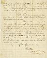 View [Assistant Quartermaster H. C. Garsonall Letter,] digital asset: [Assistant Quartermaster H. C. Garsonall Letter,] 1864.