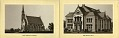 View Soldiers' Home near Dayton, Ohio [Booklet with folding strip of four views, including a panorma: lithographs.] digital asset: Soldiers' Home near Dayton, Ohio [folding strip of lithographs.]