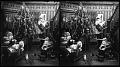 View (2) Dear Old Santa Claus distributing the presents. [Active no. 5254 : stereo photonegative.] digital asset: (2) Dear Old Santa Claus distributing the presents. [Active no. 5254 : stereo photonegative.]