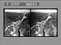 View Down the Gorge and over the Falls of the Genesee from R.R. bridge, Portage. [Active no. 13501 : stereo photonegative,] digital asset: Down the Gorge and over the Falls of the Genesee from R.R. bridge, Portage. [Active no. 13501 : stereo photonegative,] 1906.