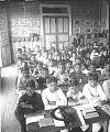 View Future citizens of equatorial America--a schoolroom full of boys at Guayaquil [Ecuador]. [Active no. 9183 : interpositive.] digital asset: Future citizens of equatorial America--a schoolroom full of boys at Guayaquil [Ecuador]. [Active no. 9183 : interpositive.]