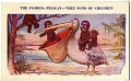 View The Florida Pelican--Very fond of Children [photomechanical postcard] digital asset: The Florida Pelican--Very fond of Children [photomechanical postcard].