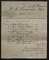 View E. D. Moore:  Receipts, September 1907-February 1911 digital asset number 2