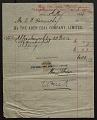 View E. D. Moore:  Receipts, September 1907-February 1911 digital asset number 9