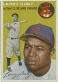 View Larry Doby [baseball card] digital asset: Larry Doby [baseball card, 1954].