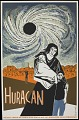 View Huracan [screenprint poster] digital asset: Huracan [screenprint poster].