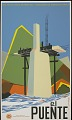 View El Puente [screenprint poster] digital asset: El Puente [screenprint poster].
