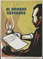 View El Hombre Esperado [screen print poster] digital asset: El Hombre Esperado [screen print poster].
