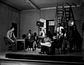 View Mr. Butcher's Dramatics Class [black-and-white photonegative] digital asset: Mr. Butcher's Dramatics Class [black-and-white photonegative].