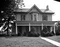 View Original Frederick Douglas [Douglass] House in Anacostia [black-and-white photonegative] digital asset: Original Frederick Douglas [Douglass] House in Anacostia [black-and-white photonegative].