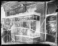 View Ethical Pharmacy [Parke, Davis, window, Oct[tober] 1950 [cellulose acetate photonegative] digital asset: Ethical Pharmacy [Parke, Davis, window, Oct[tober] 1950 [cellulose acetate photonegative].