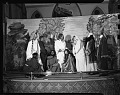 View Mrs. Hammond's play, April 1950 [cellulose acetate photonegative] digital asset: Mrs. Hammond's play, April 1950 [cellulose acetate photonegative].