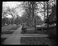 View Mrs. Julia Cardozo's residence, April 1963 [cellulose acetate photonegative] digital asset: Mrs. Julia Cardozo's residence, April 1963 [cellulose acetate photonegative].