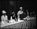 View H.U. [Howard University] Mothers Day luncheon at International Inn, May 1964 [cellulose acetate photonegative] digital asset: H.U. [Howard University] Mothers Day luncheon at International Inn, May 1964 [cellulose acetate photonegative].