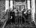 View Mr. Coleman's class reunion [group portrait : acetate film photonegative] digital asset: Mr. Coleman's class reunion [group portrait : acetate film photonegative, ca. 1934].