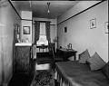 View [Y.M.C.A. bedroom, 12th Street branch : acetate film photonegative] digital asset: [Y.M.C.A. bedroom, 12th Street branch : acetate film photonegative, ca. 1933.]