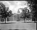 View [Frederick Douglass Memorial Hall, Howard University : acetate film photonegative] digital asset: [Frederick Douglass Memorial Hall, Howard University : acetate film photonegative, ca. 1930s.]