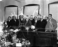 View [Judge Armond Scott being sworn into office : acetate film photonegative] digital asset: [Judge Armond Scott being sworn into office : acetate film photonegative]: undated
