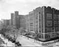 View Dunbar High School (early view) [acetate film photonegative] digital asset: Dunbar High School (early view) [acetate film photonegative, ca. 1920s.]