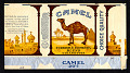 View Hallye M. Cornelius and Glendora Horne Collection of Cigarette Packages digital asset: Camel Cigarettes, R.J. Reynolds Tobacco Co., Winston-Salem, NC