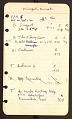 View Kameny, Frank, notebook 2, Georgia to Missouri digital asset number 2