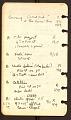 View Kameny, Frank, notebook 2, Georgia to Missouri digital asset number 3