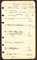 View Kameny, Frank, notebook 4, Ohio to Tennessee digital asset number 1