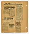 View [Newspaper clippings (5) from various newspapers : on scrapbook page.] digital asset: [Newspaper clippings (5) from various newspapers : on scrapbook page.]